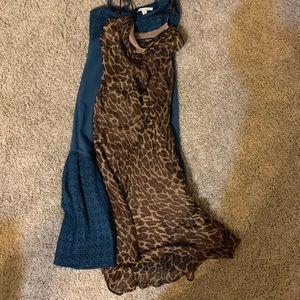 Betsey Johnson size 2 animal print dress.